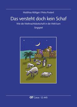 Das versteht doch kein Schaf (Partitur) von Röttger,  Matthias