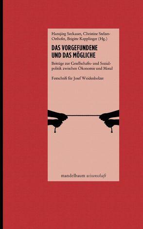 Das Vorgefundene und das Mögliche von Kepplinger,  Brigitte, Seckauer,  Hansjörg, Stelzer-Orthofer,  Christine