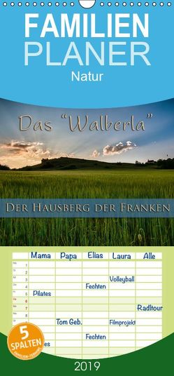 Das Walberla – Der Hausberg der Franken – Familienplaner hoch (Wandkalender 2019 , 21 cm x 45 cm, hoch) von Kulla,  Alexander