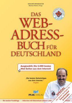 Das Web-Adressbuch für Deutschland 2017 von Weber,  Mathias