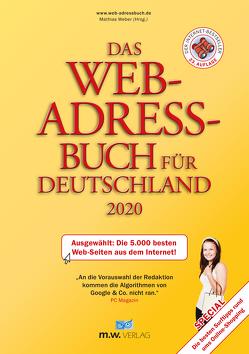 Das Web-Adressbuch für Deutschland 2020 von Weber,  Mathias