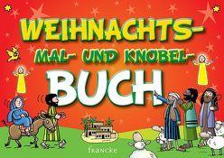 Das Weihnachts-Mal- und Knobel-Buch von Aumann,  Janina