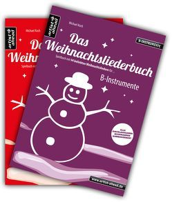 Das Weihnachtsliederbuch-Set (B-Instrumente + Klavierbegleitung) von Koch,  Michael