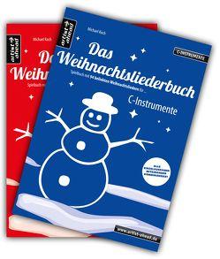 Das Weihnachtsliederbuch-Set (C-Instrumente + Klavierbegleitung) von Koch,  Michael