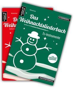Das Weihnachtsliederbuch-Set (Es-Instrumente + Klavierbegleitung) von Koch,  Michael
