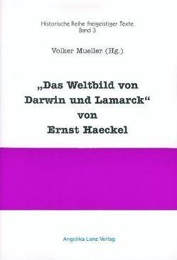 """""""Das Weltbild von Darwin und Lamarck"""" von Mueller,  Volker"""