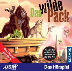 Das wilde Pack (Folge 1) – Das wilde Pack (Audio-CD) von Marx,  André, Pfeiffer,  Boris