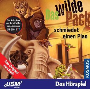 Das wilde Pack (Folge 2) – Das wilde Pack schmiedet einen Plan (Audio-CD) von Marx,  André, Pfeiffer,  Boris