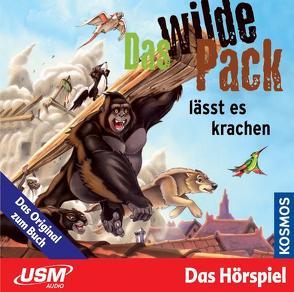 Das wilde Pack (Folge 4) – Das wilde Pack lässt es krachen (Audio-CD) von Marx,  André, Pfeiffer,  Boris