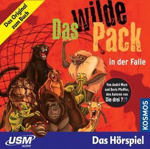 Das wilde Pack (Folge 5) – Das wilde Pack in der Falle (Audio-CD) von Marx,  André, Pfeiffer,  Boris
