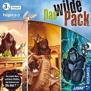 Das wilde Pack Hörbox Folgen 1-3 von Marx,  André, Pfeiffer,  Boris