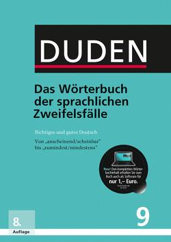 Das Wörterbuch der sprachlichen Zweifelsfälle von Dudenredaktion, Hennig,  Mathilde
