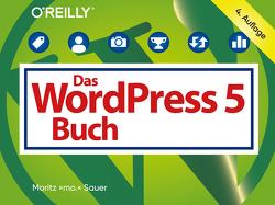 Das WordPress-5-Buch von Sauer,  Moritz