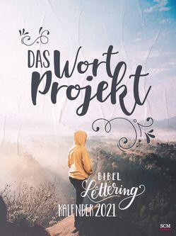 Das WortProjekt: Der Bibel-Lettering-Postkartenkalender 2021