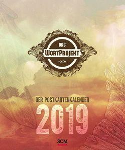 Das WortProjekt: Der Postkartenkalender 2019