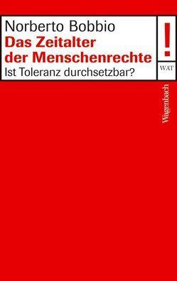 Das Zeitalter der Menschenrechte von Bobbio,  Norberto, Hausmann,  Ulrich, Kallscheuer,  Otto