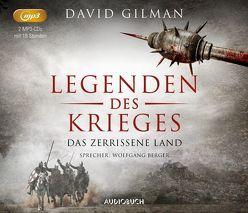Das zerrissene Land (Legenden des Krieges V, 2 MP3-CDs) von Berger,  Wolfgang, Gilman,  David, Schünemann,  Anja