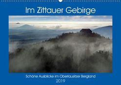 Das Zittauer Gebirge – (Wandkalender 2019 DIN A2 quer) von N.,  N.