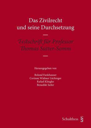 Das Zivilrecht und seine Durchsetzung von Fankhauser,  Roland, Kingler,  Rafael, Seiler,  Benedikt, Widmer Lüchinger,  Corinne