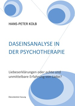 Daseinsanalyse in der Psychotherapie von Kolb,  Hans-Peter