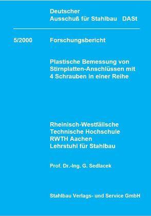 DASt-Forschungsbericht 5/2000 von Sedlacek,  G