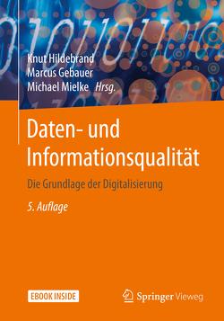 Daten- und Informationsqualität von Gebauer,  Marcus, Hildebrand,  Knut, Mielke,  Michael