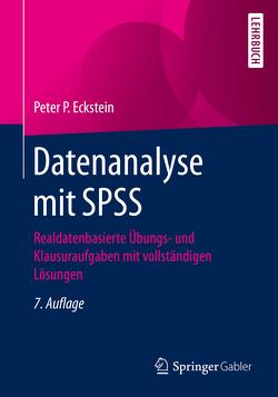 Datenanalyse mit SPSS von Eckstein,  Peter P.