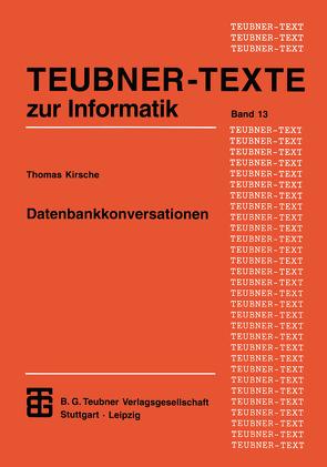 Datenbankkonversationen von Kirsche,  Thomas