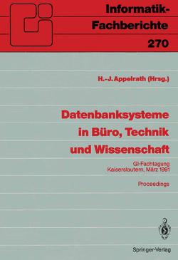 Datenbanksysteme in Büro, Technik und Wissenschaft von Appelrath,  Hans-Jürgen