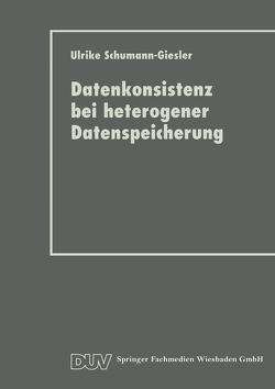 Datenkonsistenz bei heterogener Datenspeicherung von Schumann-Giesler,  Ulrike