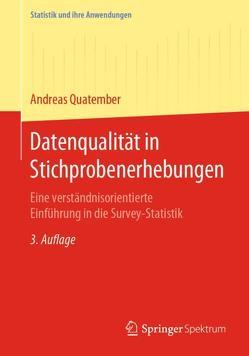 Datenqualität in Stichprobenerhebungen von Quatember,  Andreas