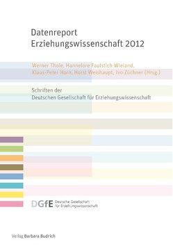 Datenreport Erziehungswissenschaft 2012 von Faulstich-Wieland,  Hannelore, Horn,  Klaus-Peter, Thole,  Werner, Weishaupt,  Horst, Züchner,  Ivo