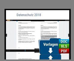 Datenschutz 2018 von Agethen,  Martin, Köcher,  Dr.,  Jan K., Kuhrau,  Sascha, Lambertz,  Peer, Maskow,  Boris, Mühlich,  Regina, Schreiner,  Katharina