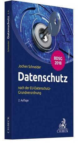 Datenschutz von Schneider,  Jochen