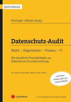 Datenschutz-Audit von Beham,  Georg, Jost,  Thorsten, Pachinger,  Michael M., Rusek,  Erik