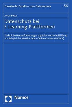 Datenschutz bei E-Learning-Plattformen von Botta,  Jonas