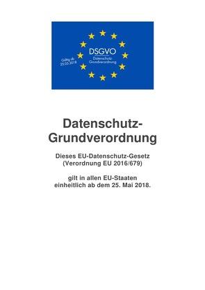 Datenschutz-Grundverordnung von Frühwald,  Peter