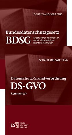 Datenschutz-Grundverordnung (DS-GVO)/ Bundesdatenschutzgesetz (BDSG) – Abonnement von Holthaus,  Gabriele, Schaffland,  Astrid, Schaffland,  Hans-Jürgen, Wiltfang,  Noeme