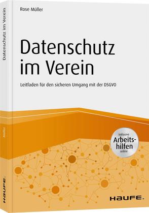 Datenschutz im Verein von Müller,  Rose