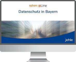 Datenschutz in Bayern online von Ehmann,  Eugen, Knoblauch,  Anton, Niese,  Marcus, Wilde,  Christian Peter, Will,  Michael