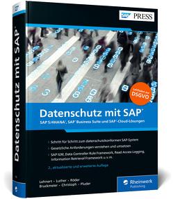 Datenschutz mit SAP von Bruckmeier,  Thorsten, Christoph,  Björn, Lehnert,  Volker, Luther,  Iwona, Pluder,  Carsten, Röder,  Markus