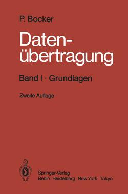 Datenübertragung Technik der Daten- und Textkommunikation von Bocker,  Peter, Grützmann,  S., Petersen,  J., Voss,  H. H.