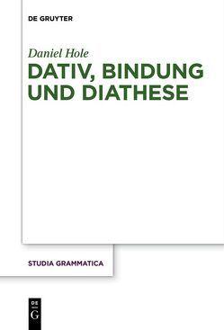 Dativ, Bindung und Diathese von Hole,  Daniel