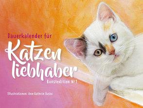 Dauerkalender für Katzenliebhaber von Busse,  Ann-Kathrin