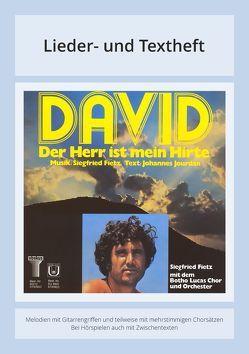 David – Der Herr ist mein Hirte von Fietz,  Siegfried, Jourdan,  Johannes, Weller,  Michael
