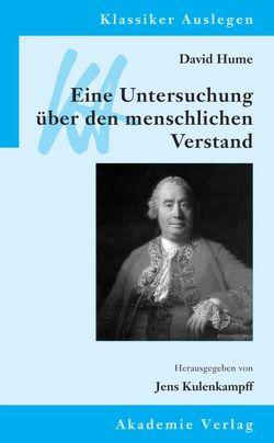 David Hume: Eine Untersuchung über den menschlichen Verstand von Kulenkampff,  Jens