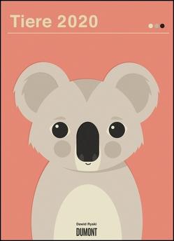 Dawid Ryski: Tiere 2020 – Kinder-Kalender – Poster-Format 49,5 x 68,5 cm von DUMONT Kalenderverlag, Ryski,  Dawid
