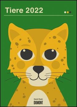 Dawid Ryski: Tiere 2022 – Kinder-Kalender – Poster-Format 50 x 70 cm von Ryski,  Dawid