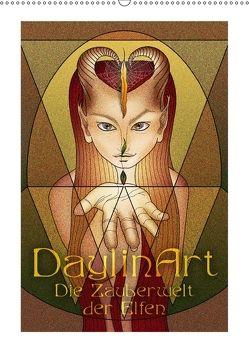 DaylinArt – Die Zauberwelt der Elfen (Wandkalender 2018 DIN A2 hoch) von Repp (DaylinArt),  Irene