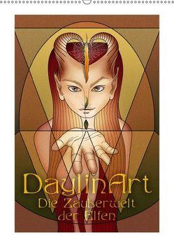DaylinArt – Die Zauberwelt der Elfen (Wandkalender 2019 DIN A2 hoch) von Repp (DaylinArt),  Irene